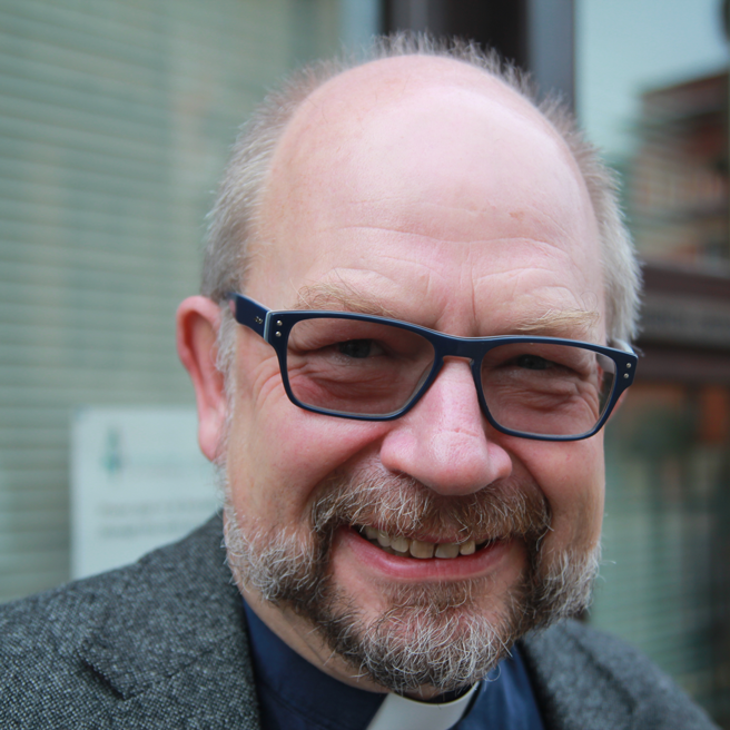 Canon Dr <b>Tudor Griffiths</b>, Chair of the Festival and Dean of Cheltenham - cair