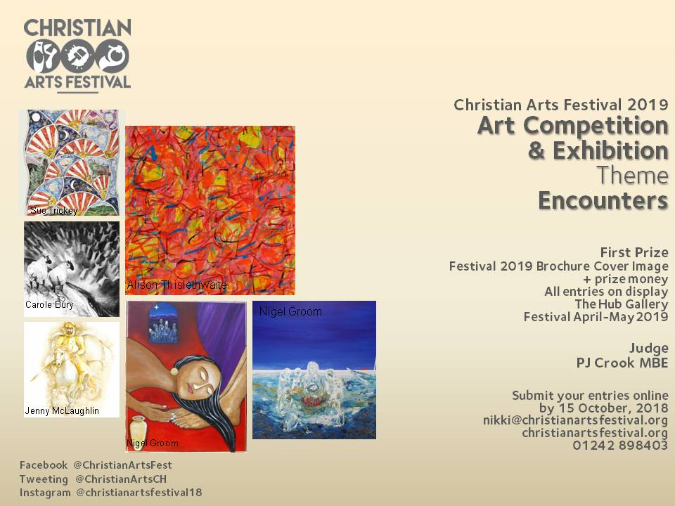 Christian Arts Festival brochure image comp