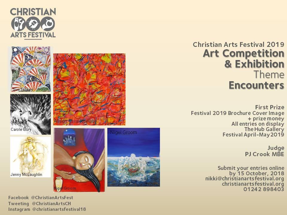 Christian Arts Festival brochure image comp